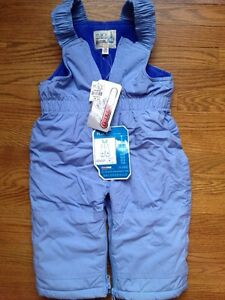 NWT toddler snow pants size12month