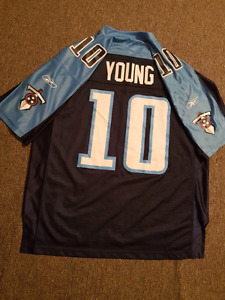 Tennessee Titans Vince Young Jersey