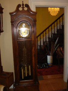 Grandfather Clock, Warranty, Delivery,Setup Included in Price