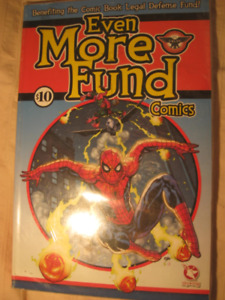 COLLECTOR: COMICS for COMIC BOOK LEGAL DEFENSE FUND! 10$ for 5$