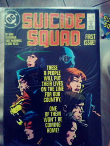 Suicide squad 80s whole set issue 1 to 59