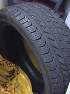 One All Season 225/45/R18 Tire for Mercedes