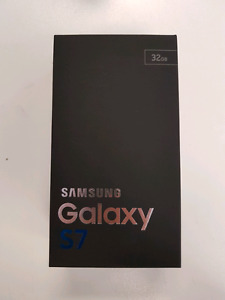 Brand New Black Galaxy S7 32GB