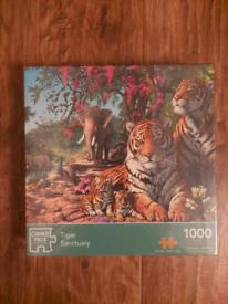 Tiger sanctuary jigsaw puzzle