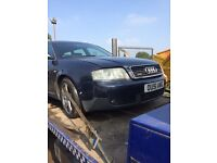 Audi A6 estate 3.0 v6 Quattro ( for parts )