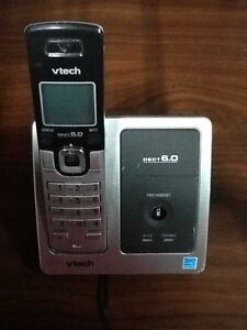 Vtech DECT 6.0 single home phone for SALE! Kitchener / Waterloo Kitchener Area image 1
