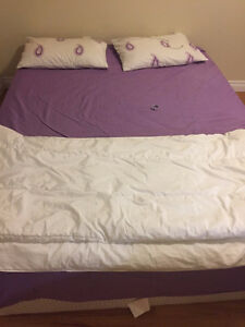 Queen Bed Frame + Queen Mattress + 2 Pillow Kingston Kingston Area image 1