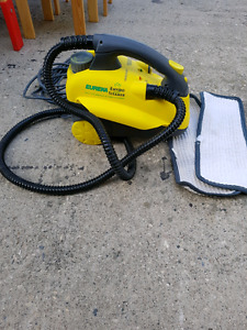 Eureka steam cleaner with accessories
