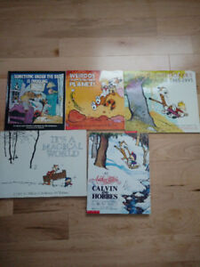 Various Calvin and Hobbes Paperback Books - ($60 for Collection)
