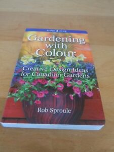 "BOOK "" Gardening with Colour "" Rob Sproule / Lone Pine"