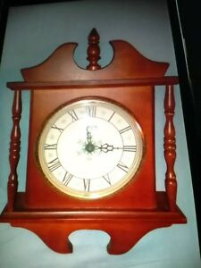 Lovely wooden electric clock