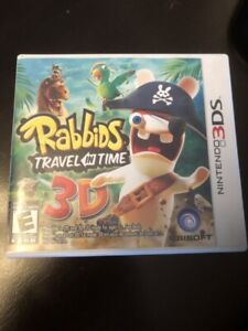 NINTENDO 3D S. RABBIDS TRAVEL IN TIME GAME