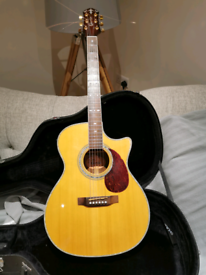 Crafter Semi acoustic guitar