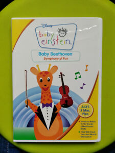 EUC: Disney Baby Einstein - Baby Beethoven - Symphony of Fun DVD