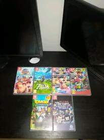 6 Nintendo Switch Games