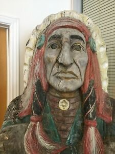 Authentic First Nation Wooden Statues
