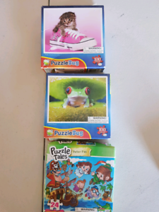 Various puzzles, various prices