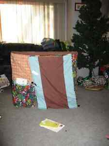 Card Table Tent, Play House Cambridge Kitchener Area image 1