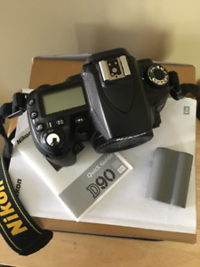 Professional Nikon D90 DSLR Camera Body