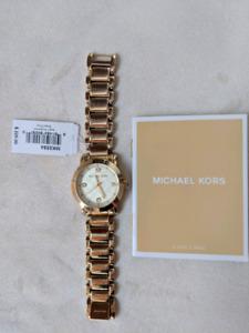 Montre Michael Kors Gold Watch