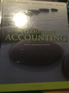 Intermediate Accounting- Ninth Canadian Edition-Volume 1