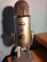 Basic Blue Yeti Microphone For Sale