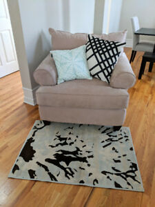 "BRAND NEW Glenn Dixon Abstract Accent Rug Mat Carpet 31"" x 44"""