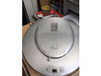 Large George foreman health grill for sale well used and fully working