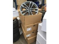 """22"""" Audi alloy wheels alloys rims Porsche 5x130"""
