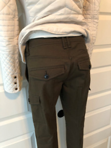 Burberry Brit Cargo pants size 2 woman like new