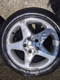 3x Mercedes Alloy Wheels