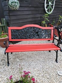 Red and Black Garden furniture