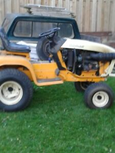 SOLD 2182 Cub Cadet Garden Tractor For Sale Kubota Gas Engine