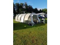 COASTLINE DELUXE 8 MAN TENT AND TRAILER