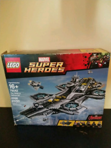 Lego Marvel 76042 SHIELD Helicarrier,