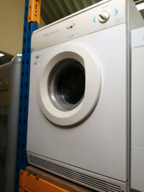 White Knight 6 kg vented dryer white with warranty at Recyk