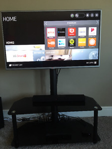 42' LG SMART TV WITH STAND