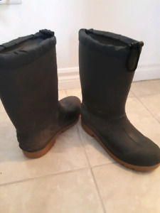 Mens insulated waterproof boots