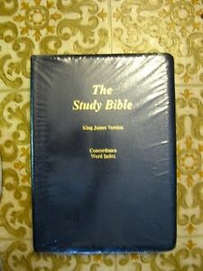 THE STUDY BIBLE, King James Version