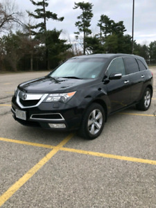 2011 Acura MDX Technology Package 1 owner