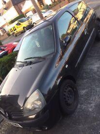 Clio 1.2 spares or repairs