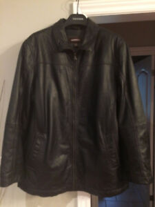 Men's XXL Black, Danier Leather winter jacket