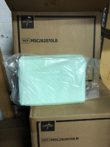 Bed Soaker pads 36 x 36 4 boxes of 50