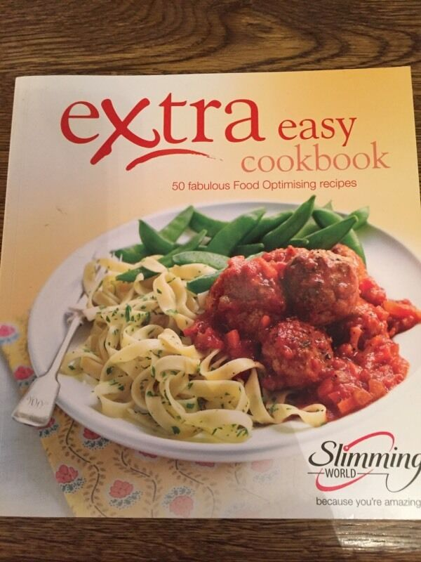 Slimming World Extra Easy Cookbook In Lowestoft