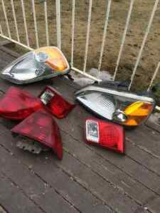 2003 Honda Civic lights