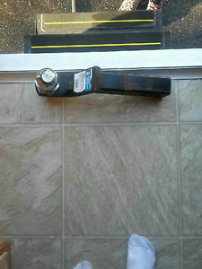 Trailer hitch with ball. $40