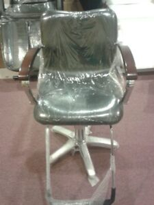 Brand new hair styling chair and trolley