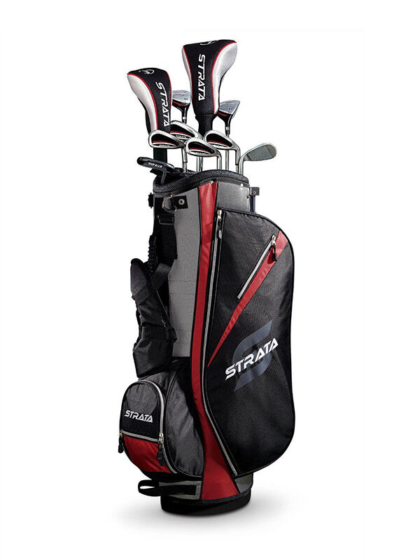 Callaway Strata Set with Bag - Graphite/Steel