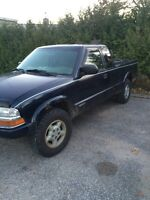 99 Chevy s10 4x4 1200 OBO want it gone