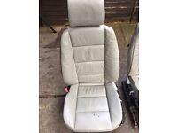 BMW e36 convertible front leather seats , 20GBP